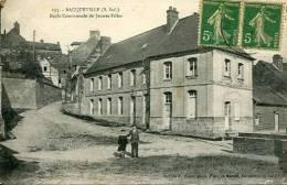 N°22332 -cpa Bacqueville -école Communale De Jeunes Filles- - Sonstige Gemeinden