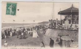 CPA DPT 14 CABOURG LA PLAGE A L HEURE DU BAIN En 1908 !! - Cabourg
