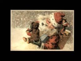 NOËL - Père Noël - Ours En Peluche - Noël