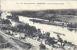 HAUTE NORMANDIE - 76 - SEINE MARITIME - BONSECOURS - Vue Sur La Vallée De La Seine - Bonsecours