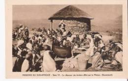 LE DEJEUNER DES ECOLIERS OFFERT PAR LA MISSION BASUTOLAND (LESOTHO) - Lesotho
