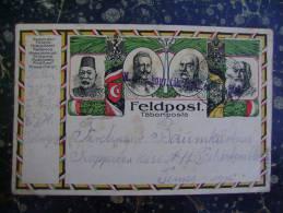 Feldpost-Turkey-Auistria-Hungari-Germany..-cca 1915       (1724) - Turchia