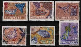 Du N° 1247 Au N° 1252 D'Albanie   - X X - ( E 1010 ) - ( Mosaïque ) - Sonstige