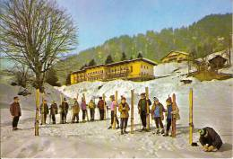 MARCINELLE EN MONTAGNE-CLASSE DE NEIGE A SAINT NICOLAS LA CHAPELLE (PLUMET-73 SAVOIE) Ski - Charleroi