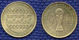 Medal TUNISIA Football Soccer FIFA  World Cup 2006 Germany. # 1627. - Habillement, Souvenirs & Autres