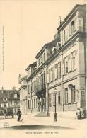 Montbéliard : Hôtel De Ville, Poste De Police. 2 Scans. Edition Soudré - Montbéliard