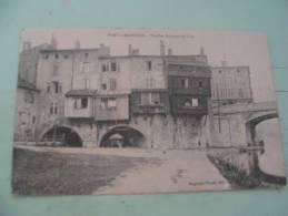 VIEILLES MAISONS DU PONT.. - Pont A Mousson