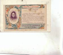 88 BAN DE LAVELINE    Madame RAFFNER Prix De Vertu Et Dévouement En 1900  RARE            22082012 - France