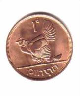 IRELAND   1  PENNY  1968 (KM # 11) - Ireland