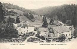Jura- Environs De Nozeroy -Usine électrique Et Vallée De La Source De L'Ain. - France
