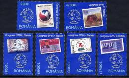 ROMANIA 2004 UPU Congress Set Of 6  MNH / **.  Michel 5857-62 - 1948-.... Republics