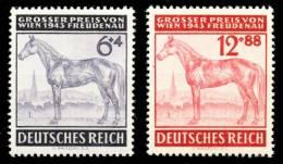 3. REICH 1943 Nr 857-858 Postfrisch S7ACBD2 - Deutschland