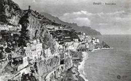 """Cartolina  D´epoca     """"   Amalfi - Panorama   """" - Salerno"""