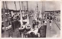 CPA  - CPSM - 14 - OUISTREHAM RIVA BELLA - Yachts Dans Le Port - 75 - Ouistreham