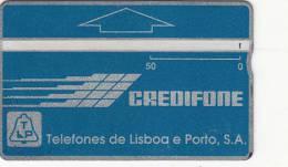 PORTUGAL(L&G) - TLP Logo 50 Units, CN : 008B, Tirage 60000, 08/90, Used - Portugal