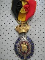 HABILETE MORALITE Belgium Medal 30 Years Of Labour - Belgium