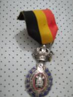 HABILETE MORALITE Belgium Medal 25 Years Of Labour - Belgium