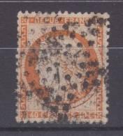 Lot N°18253   Variété/n°38, Oblit étoile Muette De PARIS, Filet EST, - 1870 Siege Of Paris