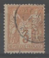 Sage  N° 86 Avec Oblitération Cachet à Date, Signé  TB - 1876-1898 Sage (Type II)