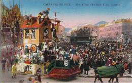 06 - Nice - Carnaval, Mon Village (char) Bonitassi Vcitor Constr. - Carnaval