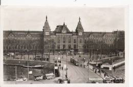 AMSTERDAM CENTRAAL STATION (CARTE PHOTO) - Amsterdam