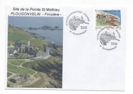 11478  - 1er JOUR Du Timbre POINTE ST MATHIEU (PHARE - SEMAPHORE ETC..... - Lighthouses