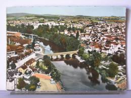 EN AVION AU-DESSUS DE…GUEUGNON (71) - VUE GENERALE - Gueugnon
