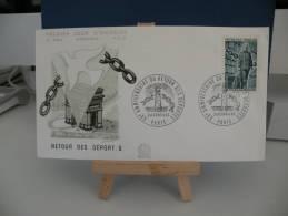 *FDC - Anniversaire Retour Des Déportés  - 2& 3 Avril 1965 France - Coté 3€ - 1960-1969