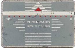 @+ Rare : Ancienne Telecarte De Saint-Eustache - 120 U - Série LG : 402B... - Antilles (Netherlands)