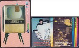 Netherlands Phonecard TV Television Televisie 1955 10 G / € 4,54 Used 2004 - Niederlande