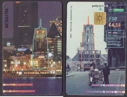 Netherlands Phonecard St. Laurenskerk, Rotterdam, 1940 10 G / € 4,54 Used 2005 - Niederlande