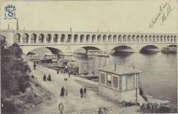 75 - Paris - Viaduc Du Point Du Jour (belle Animation, Peu Courante, Précurseur) - Ponts