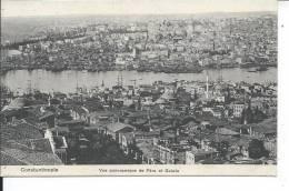 TURQUIE - CONSTANTINOPLE - Vue Panoramique De Péra Et Galata - Postcards