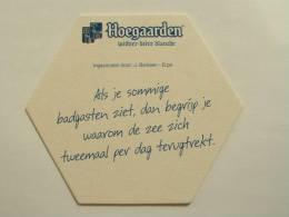 SOUS-BOCKS BIERE HOEGAARDEN NEUF - Beer Mats