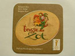 SOUS-BOCKS BIERE BRUGSE ZOT ALE   NEUF GOLD AWARD 2008 WBC - Beer Mats
