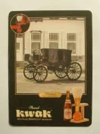 SOUS-BOCKS BIERE KWAK  NEUF Façon CARTE POSTALE - Beer Mats