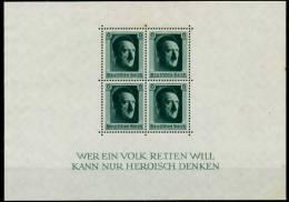 3. REICH 1937 Block 7 Ungebraucht 70CAB6 - Deutschland