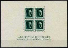 3. REICH 1937 Block 7 Postfrisch Ungebraucht 718BAE - Deutschland
