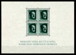 3. REICH 1937 Block 7 Postfrisch 718502 - Deutschland