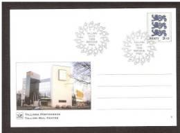 Estonia 1999  Postal Stationary. Card # 1  FDC Tallinn Mail Centre - Estland