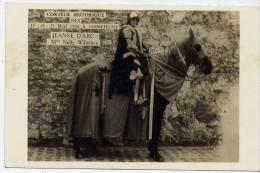 60 - COMPIEGNE (oise) -  Fêtes Jeanne D'Arc 1930 - Melle Nelly Wilhélem - Carte Photo - Compiegne