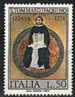 1974 - Italia 1273 San Tommaso - Teologi