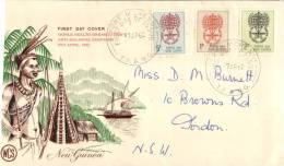 (10) Papua New Guinea FDC Cover - 1962 - Papouasie-Nouvelle-Guinée