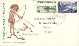 (10) Papua New Guinea FDC Cover - 1963 - Papouasie-Nouvelle-Guinée