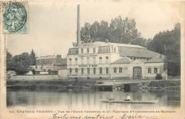 02  CHATEAU THIERRY VUE DE L'USINE COUESNON ET CIE FABRIQUE INSTRUMENTS DE MUSIQUE - Chateau Thierry