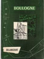 - Petit Guide De 34 Pages Sur BOULOGNE-BILLANCOURT - Année 1964 - 939 - Ile-de-France