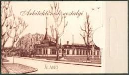 ALAND 2012 Postzegelboekje Architectonische Nostalogie PF-MNH-NEUF - Aland