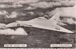 Avro 698 ''Vulcan'' (G.B.) - Collection Aviation-magazine - CPSM - 1946-....: Moderne