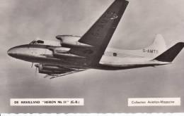 De Havilland ''Heron MK II'' (GB) - Collection Aviation-magazine - CPSM - 1946-....: Moderne