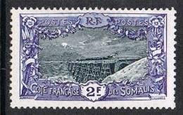 COTE DES SOMALIS N°98 N* - Côte Française Des Somalis (1894-1967)